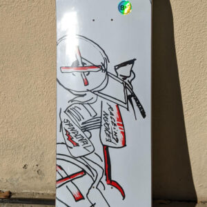 Krooked Ronnie Sandoval Racer K Deck 8.6