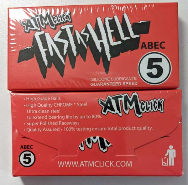 ATM Click Fast as Hell Abec 5 Bearings