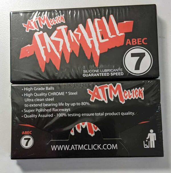 ATM Click Fast as Hell Abec 7 Bearings