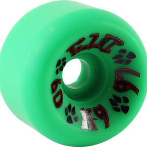 DOGTOWN K-9 60mm Wheels 97a GREEN