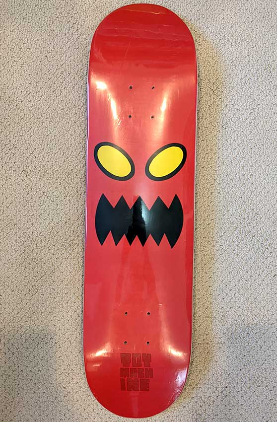 Toy Machine Monster Face Deck