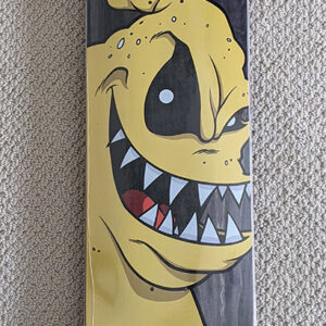 Birdhouse - Hamoki Yuk Mouth Deck 8.38 - Yellow